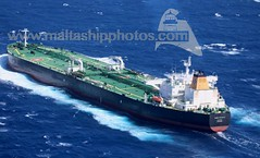 MARE PICENUM underway offshore Agrigento, Sicily - 14.06.2018 - www.maltashipphotos.com (Malta Ship Photos & Action Photos) Tags: sea offshore sicily sicilia agrigento crude oil tanker italian suezmax ita flag aerial ship vessel