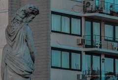 Atardecer en Buenos Aires (TransÁnimas) Tags: buenos aires street sunrise outside urban