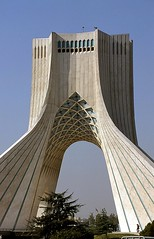 Tour Azadi (Daniel Biays) Tags: tourazadi téhéran iran azaditower