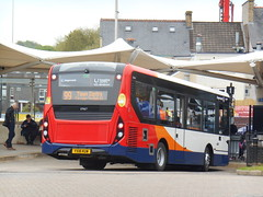 Stagecoach in South Wales 37467 (Welsh Bus 18) Tags: stagecoach southwales dennis dart slf 5 eurovi 9m 37467 yx18kuw pontypridd