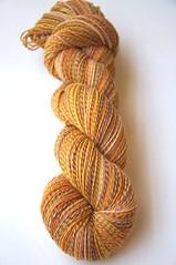 wufa swm hcs skein1 (thing4string) Tags: spinning handspinning handspun yarn wool superwash merino 3ply sock fingering woundupfiberarts