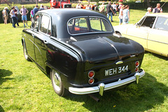 1955 Austin A40 Cambridge. (Yesteryear-Automotive) Tags: austin england a40 cambridge family saloon car motorcar