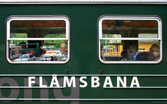 Noorwegen: Flåmsbana train (Henk Binnendijk) Tags: flåmtrainstation flåmsdalen norway railroad railway station train flåmsbana flamsbana flåm flam myrdal aurland passengers people window trainwindow terminal dwwg sognogfjordane flaam norge noorwegen flåmstasjon