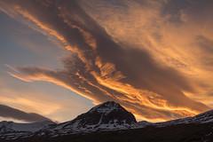 Midnight sky (*Jonina*) Tags: iceland ísland faskrudsfjordur fáskrúðsfjörður sky himinn clouds ský cloudscapes mountains fjöll hoffell jónínaguðrúnóskarsdóttir 500views 25faves 1000views 50faves