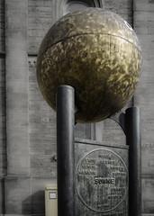 Göttingen - The Sun (dietmar-schwanitz) Tags: göttingen niedersachsen lowersaxony deutschland germany sonne sun skulptur sculpture planetenweg kunst art nikond750 nikonafsnikkor24120mmf40ged lightroom colorefex nikcollection dietmarschwanitz