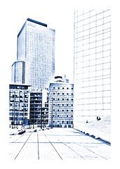 nouvelle série, la Défense (Marie Hacene) Tags: ladéfense paris puteaux immeubles architecture silhouettes urbain urban