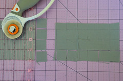 2. Cut fabric to cut-size. (osiristhe) Tags: nikond5100 18200mm quilting sewing needlework
