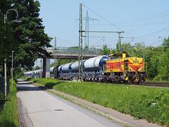 ThyssenKrupp 548 (jvr440) Tags: trein train spoorwegen railroad railways duisburg ratingen lintorf thyssenkrupp mak g1206