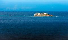 ruinas (leonardorizalez1) Tags: isla mar venezuela ruinas playa azul relax cielo nubes soledad cumana mochima