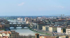 Historical Bridges of Florence (stardex) Tags: river bridge city arnoriver building architecture florence italy