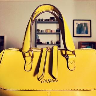 Yellow bag. 152/365