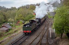 Highley Arrival (michaelgreenhill) Tags: severnvalleyrailway svr smoketrain highley shropshire railway locomotive england steam unitedkingdom gb