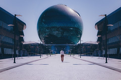 Moonbase Alpha (Andrew G Robertson) Tags: astana kazakhstan architecture future modern expo street geometry астана