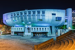 I will go to space in blue ship (Michael Muraz) Tags: downtown europe france lyon partdieu rhônealpes world auditorium blue bluehour building city cityscape dusk night nightscape stairs town twilight rhonealpes