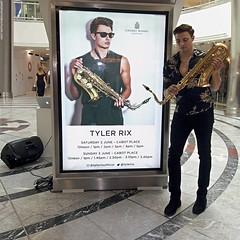 Tyler Rix (Jeff G Photo - 3m+ views - jeffgphoto@outlook.c) Tags: tylerrix sax saxophone canarywharf