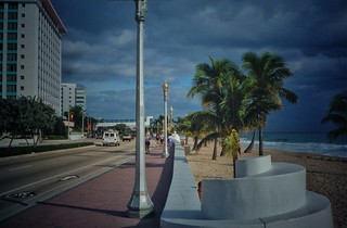 Fort Lauderdale  Florida - Beach Frontage - Spring Break