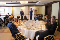 07-06-2018 Exclusive Luncheon with Secretary of State Pieter De Crem - DSC08975