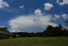 Distant thunderstorm -Anderson S.C. (DT's Photo Site - Anderson S.C.) Tags: canon 6d 1740mml lens andersonsc afternoon june thunder storm cumulo nimbus cloud rain wind hail lightning upstate rural southcarolina summer precipitation scenic southernlife south america usa