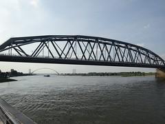 Nijmegen: Railway Bridge (harry_nl) Tags: netherlands nederland 2018 nijmegen waal spoorbrug railway bridge snelbinder