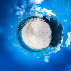 Mini planet - Heron Island (Theresa Hall (teniche)) Tags: 360 360pano 360panorama australia canoncollective greatbarrierreef heronisland nikond750 queensland teniche theresahall beauty hmasprotector island jetty miniearth miniglobe miniworld nature nikon pano panorama reef shipwreck wharf