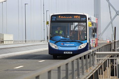 Fife Scottish Omnibuses Ltd - 27118 - SL14LSZ; Forth Road Bridge; 09-06-2018 (graeme8665) Tags: stagecoachfife forthroadbridge