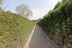 Catch Me (CoolMcFlash) Tags: zoom person running effect thrill canon eos 60d exposure motion blur laufen effekt spannung belichtung bewegung bewegungsunschärfe fotografie photography sigma 10mm fisheye dutchangle