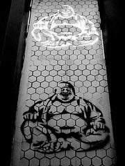Enlightment (De Rode Olifant) Tags: marjansmeijsters enlightment quote buddha mural nijmegen