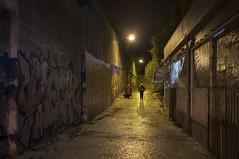 . (Le Cercle Rouge) Tags: lisboa lisbon lisbonne gold or oro golden path benfica graff graffiti graffitiart streetart handsytlestag flop painters humans shadows silhouettes theneverendingstory