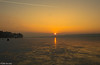 Sunset on a frozen Ammersee (fabioluisi90) Tags: ammersee frozen lake bavaria germany lago ghiacciato inverno winter ice ghiaccio sunset colors tramonto colori nikon d3200 nikkor 18140mm iamnikon