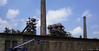Landschaftspark Duisburg (frankdorgathen) Tags: landschaftsparkduisburg duisburg ruhrgebiet ruhrpott industry industrie chimney schornstein building gebäude industrialcomplex sky himmel crane kran