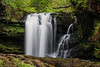 Gushing (The Frustrated Photog (Anthony) ADPphotography) Tags: breconbeacons category places riverneath sgwdddwliisaf theelidirtrail travel wales waterfall canon canon70d canon1585mm landscapephotography woodland wood forest gorge rocks rural countryside tree trees water river creek longexposure rock