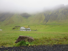 Concert pavillion, Heimaey, Westman Islands, Iceland (Travel writer at KristineKStevens.com) Tags: iceland heimaey westmanislands vestmannaeyjar island
