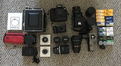What's in the Bag - Photostock 2018 (Alex Luyckx) Tags: photostock2018 photostock bag what'sinthebag gear camera