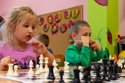 VIII Turniej Szachowy o Mistrzostwo Przedszkola Europejska Akademia Dziecka-17