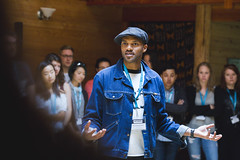 Activate_AMcPhoto_014 (HollyhockLife) Tags: 2018 activate britishcolumbia canada conference cortesisland hollyhock indoor khariwendellmcclelland olatunji