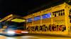 Right to the city (Ramon InMar) Tags: ciutat city ciudad derecho dret right graffity pintades autobus bus night nit nocturna llarga exposicio long exposure