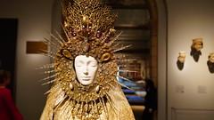Statuary vestment for the Virgin of El Rocío  The MET(12) (rverc) Tags: yvessaintlaurent heavenlybodiesfashionandthecatholicimagination metropolitanmuseumofart