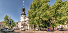 St. Mary's Cathedral, Tallinn (Gösta Knochenhauer) Tags: 2018 may panasonic lumix fz1000 dmcfz1000 tallinn vanalinna old town estonia doom kirik cathedral panorama stitch p915048795icenik p915048795 ice nik toomkirik st marys saint mary eesti