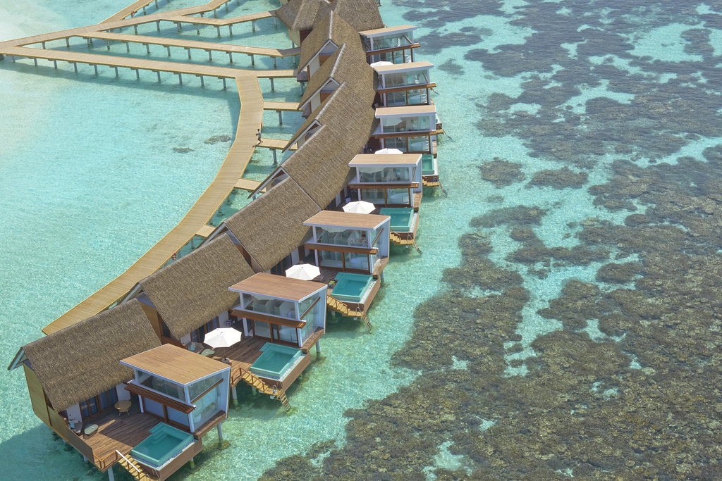 Ocean Pool Villa - Aerial