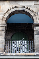 Wander with Alastair May 23rd 2018  (22 of 45) (Philip Gillespie) Tags: edinburgh scotland 2018 may summer spring canon 5dsr street people buildings architecture windows monuments castle historic old vennel cranes sky clouds sun water trees park arch court balmoral hotel lines shapes colour color green blue red yellow orange birds cats dogs duck goose heron pond lake flying swimming man woman statue horse folly path black white mono monochrome bike road angles flags bunting art artistic shade shadow