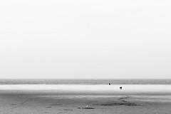 Am Strand entlang (Gruenewiese86) Tags: amrum landschaft urlaub landscape black white monochrome schwarz schwarzweiss minimal minimalismus minimalism meer
