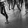 melbourne-1090021-ps-w (pw-pix) Tags: feet legs movement moving blur motion people pedestrians footpath cameratesting panasonicgx85 panasonic1232gvario heavilycropped bw blackandwhite monochrome elizabethstreet cbd melbourne victoria australia peterwilliams pwpix wwwpwpixstudio pwpixstudio