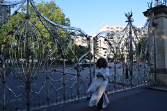 DSC_2400 Wintrade Rest and Recreation in Hyde Park London Ornamental Gates at Park Lane Entrance with Nicole Ross (photographer695) Tags: hyde park london wintrade rest recreation ornamental gates lane entrance with nicole ross