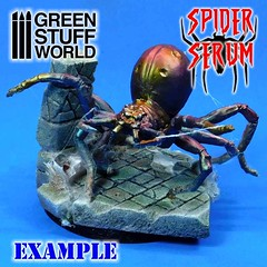 #spiderserum example with a #spider to create #spiderwebs by Green Stuff World (greenstuffworld) Tags: spiderserum spider spiderwebs wwwgreenstuffworldcom spain