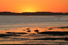 The Coorong (adamsgc1) Tags: murrayriver coorong thecoorong southaustralia murrayriverdelta sunset meningie red water reflection