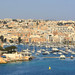 Looking towards Gzira, Malta