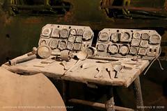 Heinkel He 162 Volksjäger instrument panels (srkirad) Tags: gypsum underground seegrotte mine atraction landmark factory heinkel he162 salamander volksjager instruments panels dashboards wing history ww2