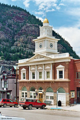 Ouray City Hall (StevenM_61) Tags: architecture governmentbuilding cityhall library colonialrevival ouray colorado unitedstates