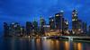 CBD at blue hour (ah.b|ack) Tags: sony a7ii a7mk2 zeiss batis 25mm f2 cityscape central business district singapore blue hour 169