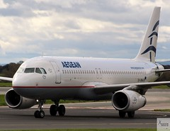 Aegean Airlines A320-214 SX-DNA taxiing at MAN/EGCC (AviationEagle32) Tags: manchester man manchesterairport manchesteravp manchesterairportatc manchesterairportt1 manchesterairportt2 manchesterairportt3 manchesterairportviewingpark egcc cheshire ringway runway ringwayairport runwayvisitorpark uk runway23r unitedkingdom airport aircraft airplanes apron aviation aeroplanes avp aviationphotography aviationlovers avgeek aviationgeek aeroplane airplane planespotting planes plane flying flickraviation flight vehicle tarmac aegean aegeanairlines staralliance airbus airbus320 a320 a320200 a320214 a322 sxdna